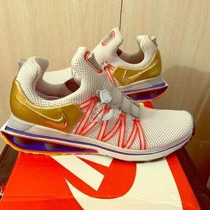 Nike Shox Gravity Metallic Gold Men's 9.5